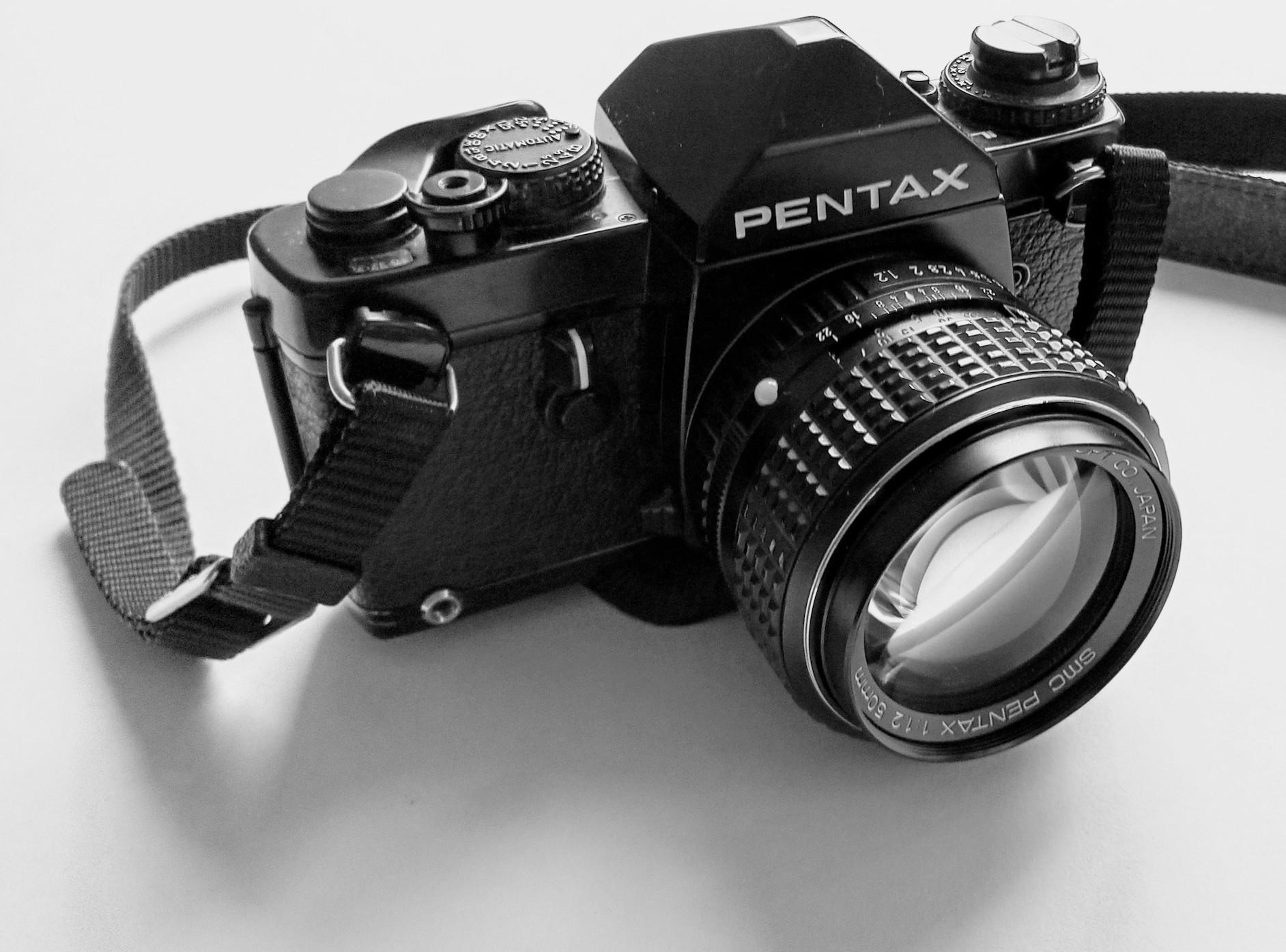 Pentax LX analog camera review